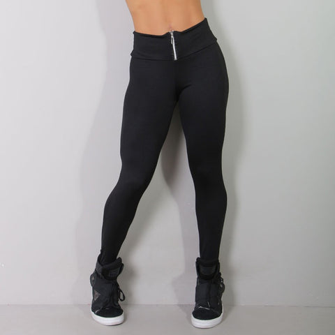bbbd3625ed Womens Black High Waist Zipper Leggings. €22.50. €25.00. Womens Sport  Essentials Capri Pants