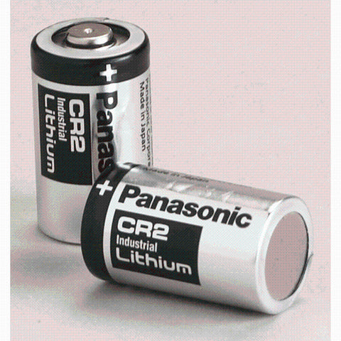 CR2 LITHIUM BATTERIES - 2 PK -