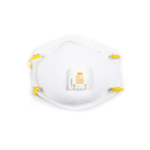 DUST-MIST RESPIRATOR BOX OF 10