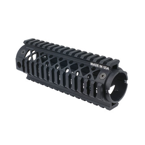 Ar15 Carb 2Pc Quad Rail Forend