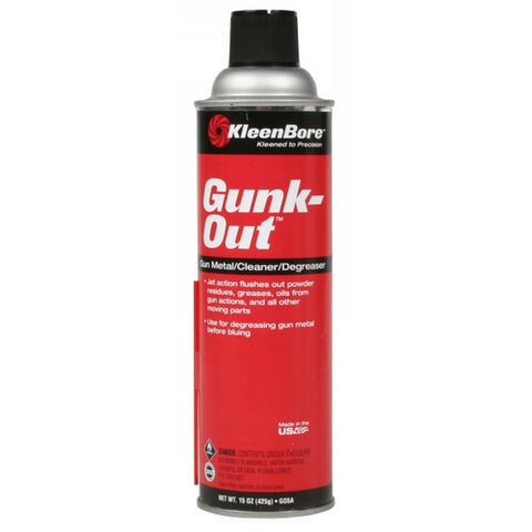 15OZ. GUNK-OUT CLEANER-DEGREA