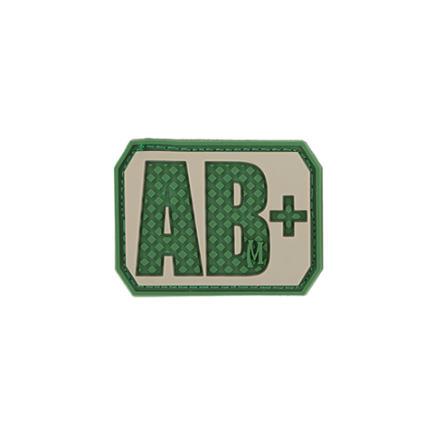 AB+ POS Blood Type Patch