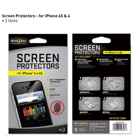 Screen Protector for iPhone 4 2 Pack