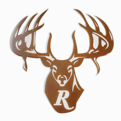 "Remington - Large Color ""R"" Buck Decal"