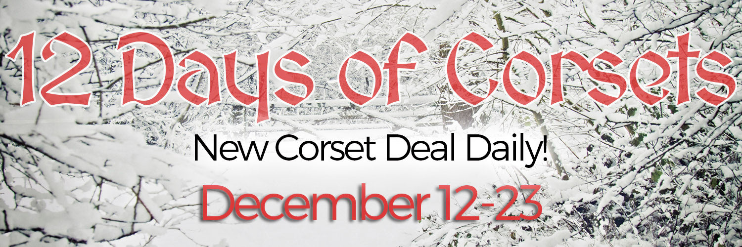 12 Days of Corsets Sale