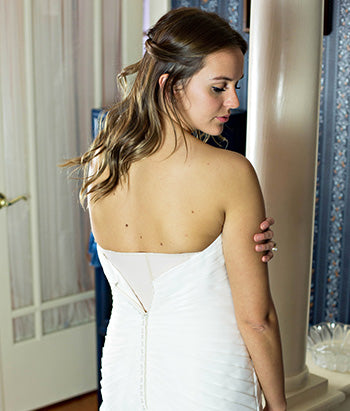b60095538f7e How to Wear a Corset Under Your Wedding Dress | Orchard Corset