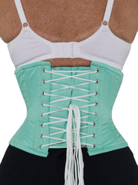 Underbust Aqua Cotton Corset - Limited Edition (CS-201)