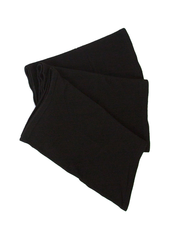 Three black seamless bamboo corset liners