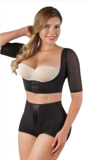 Sleek Upper Arm Shaper and Back Bulge Smoother : Vedette 3133