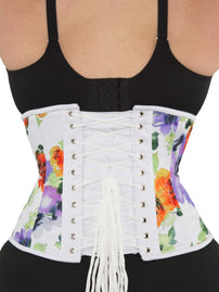 Limited Edition Spring Floral Cotton Underbust Standard Corset (CS-411 Standard)