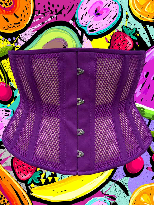 Limited Edition Juicy Fig Mesh Romantic Curve Standard Underbust Corset : CS-411