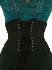 double steel boned corset cs-411