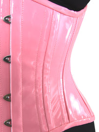 Limited Edition for Breast Cancer Awareness Pink PVC Corset (CS-426 Standard)