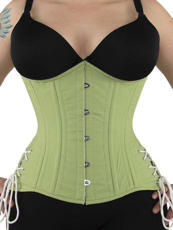 40f2efca7 Limited Edition Underbust Longline Corset in Cotton w  Hip Ties (CS-426  Longline ...