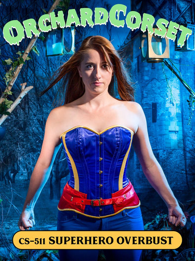 Limited Edition Superhero Overbust Corset (CS-511)