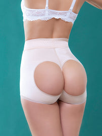 Vedette 910 High Waist Open Bottom Booty Enhancer rear