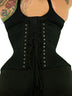 Underbust Cotton Standard Corset w/ Hip Ties (CS-426 Standard)
