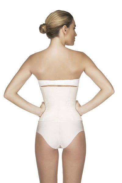 Vedette 102 Latex Strapless Underbust Waist Cincher Backview