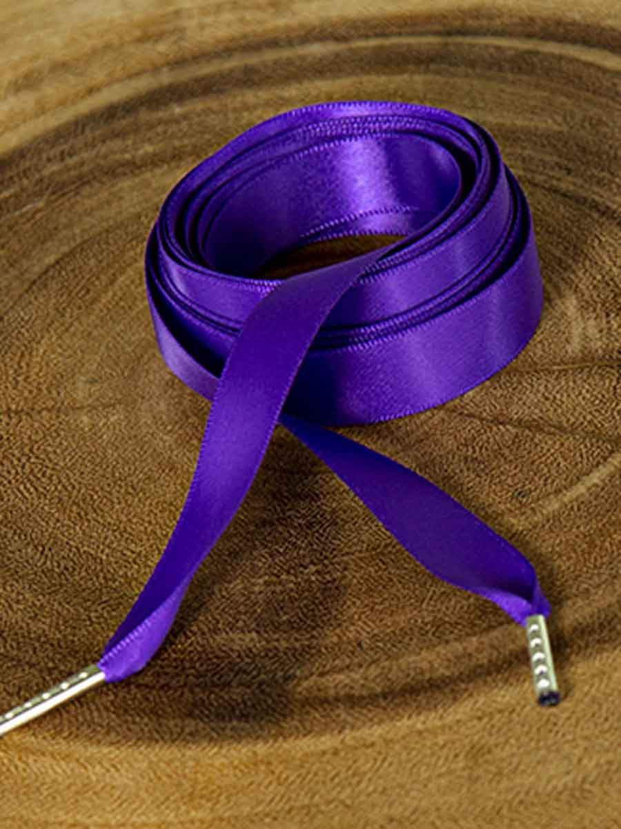 Cotton Cord with Organza Ribbon Colour /'Purple/'