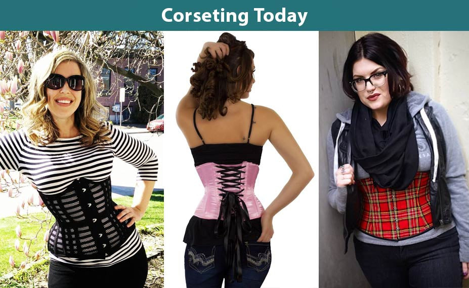 e87d18452b ... in popularity as women discover just how useful a corset can be for  creating killer curves (not to mention the many celebrities who ve taken to  wearing ...
