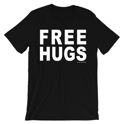 Free Hugs T-Shirt - Official Free Hugs Project Tee