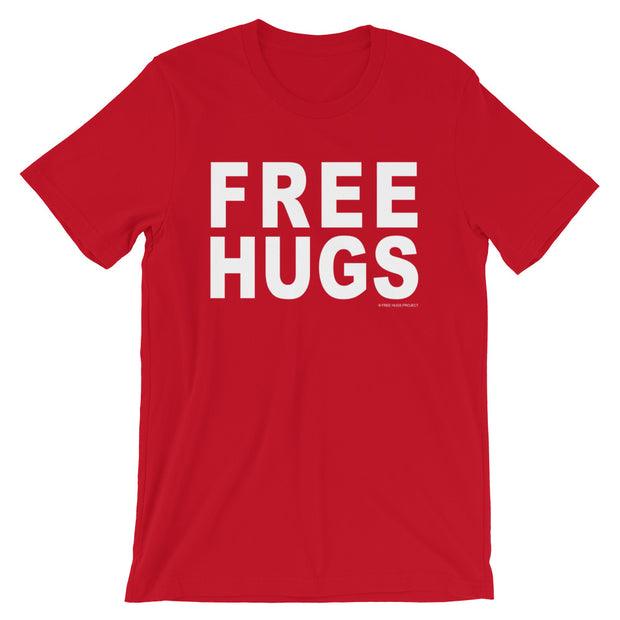 Free Hugs T-Shirt - Bold Color Collection