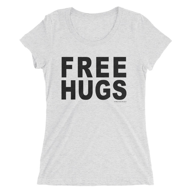 Women's Tri-Blend Free Hugs T-Shirt - Light Color Collection