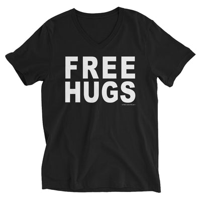 Free Hugs V-Neck T-Shirt