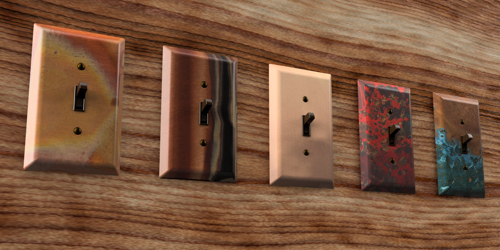 Top Trending Copper Wallplate Designs for Modern Style Homes