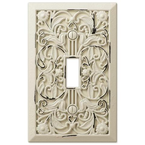 Filigree Antique White Cast