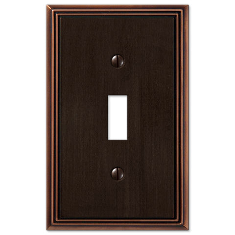 Elegant Switch Plate Oil Rubbed Bronze