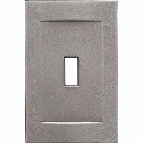 Brushed Nickel Cast Metal Magnetic