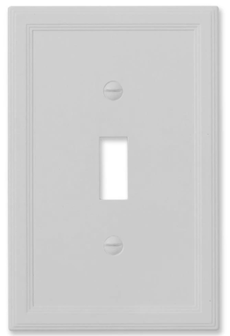 Gray Satin Stone Wallplate