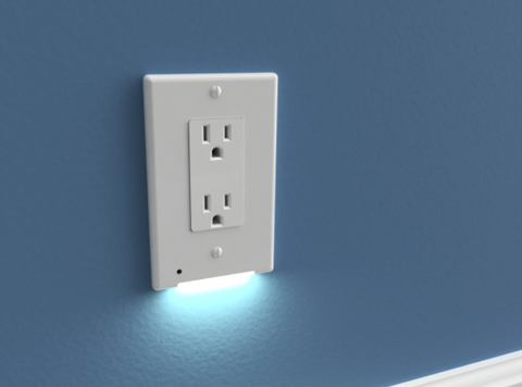 LED Integrated Wall Plate