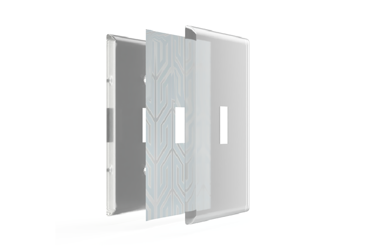 Paper It Clear Screwless Switch Plates For Your Home