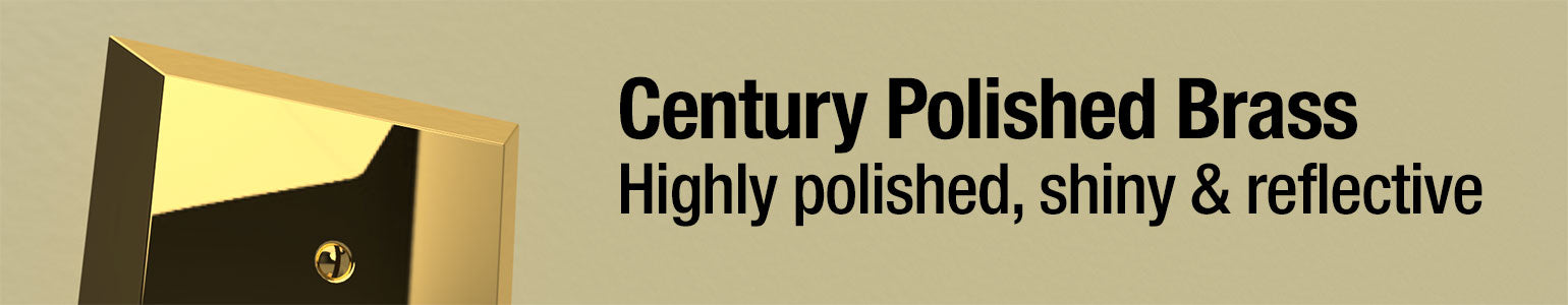 Century Polished Brass