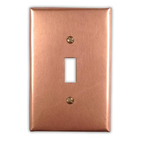 Raw Copper Wallplate