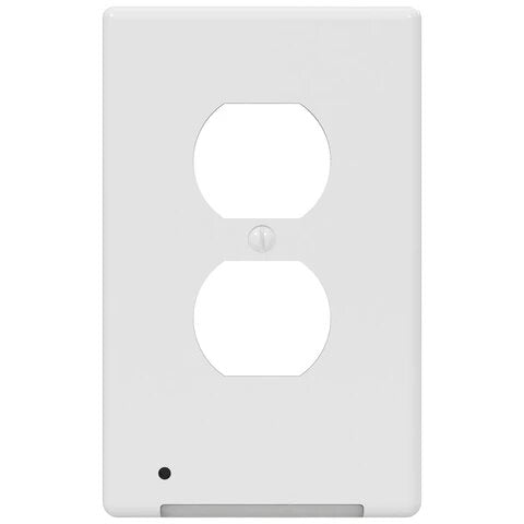 White LED Night Light Switch Plate