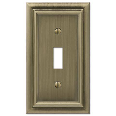 brass switch plate