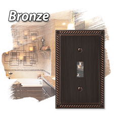 Bronze Wallplates