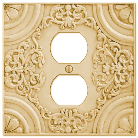 Canterbury Resin - 1 Duplex Wallplate