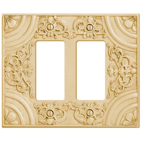 Canterbury Resin - 2 Rocker Wallplate