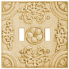 Canterbury Resin - 2 Toggle Wallplate