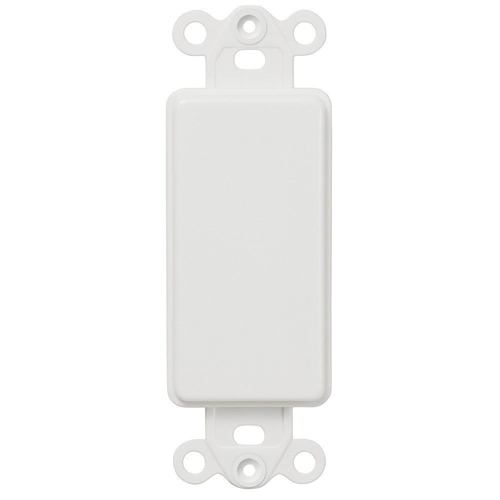 Blank Rocker Insert - White - Wallplate Warehouse