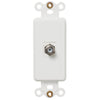 Rocker Insert White - 1 Cable Jack - Wallplate Warehouse