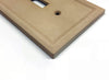 Sandstone Cast Stone Insulated - 3 Rocker Wallplate