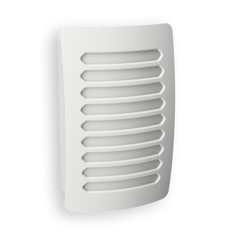 DecoPlug LED Louver White Night Light