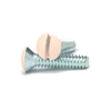 Ivory 3/4 Inch Wallplate Screws - 10 Pack - Wallplate Warehouse