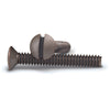 Aged Bronze 1 Inch Wallplate Screws - 10 Pack - Wallplate Warehouse