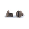 Aged Bronze 1/4 Inch Wallplate Screws - 10 Pack - Wallplate Warehouse